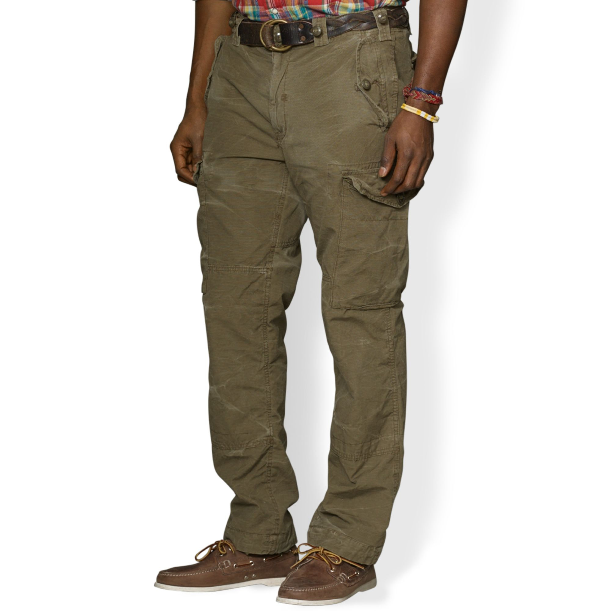 3916a7fde4 Ralph Lauren Polo Big and Tall Classicfit Canadian Ripstop Cargo ...