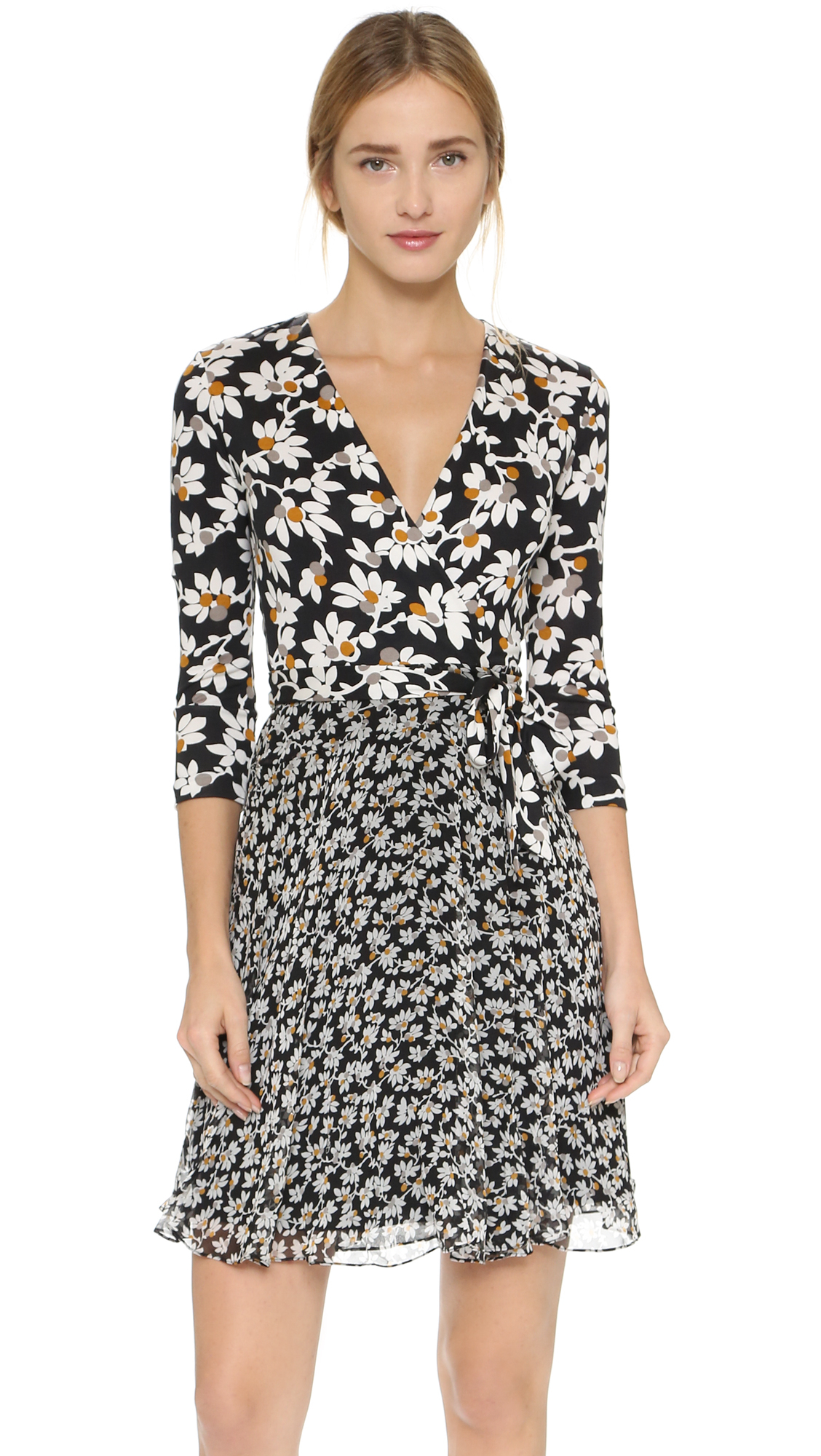 The wrap dress dvf - Gallery
