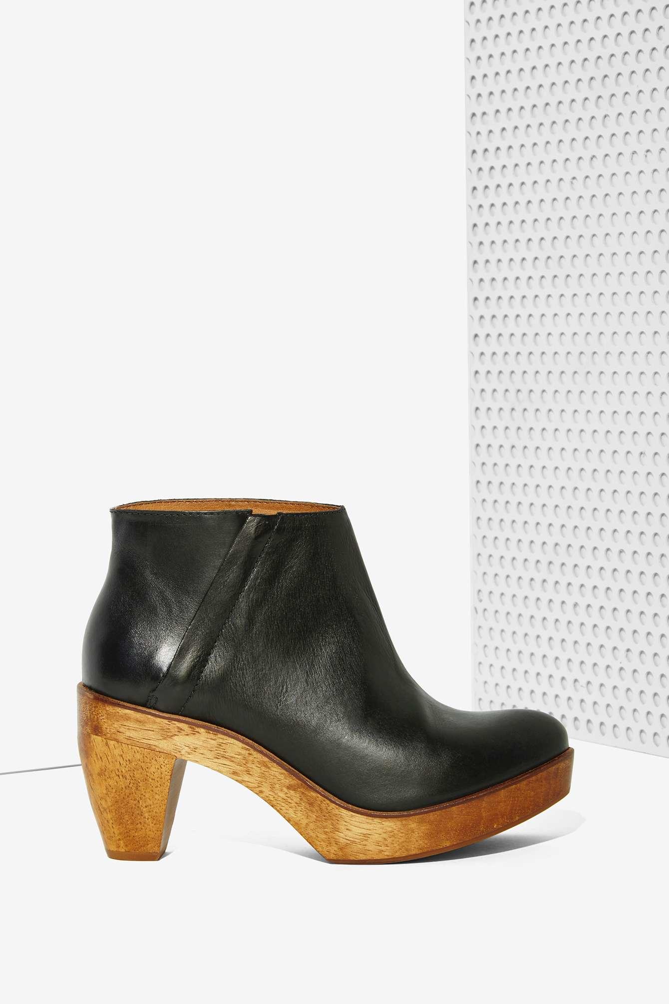 Kelsi dagger brooklyn Night Rhythm Leather Boot in Black ...