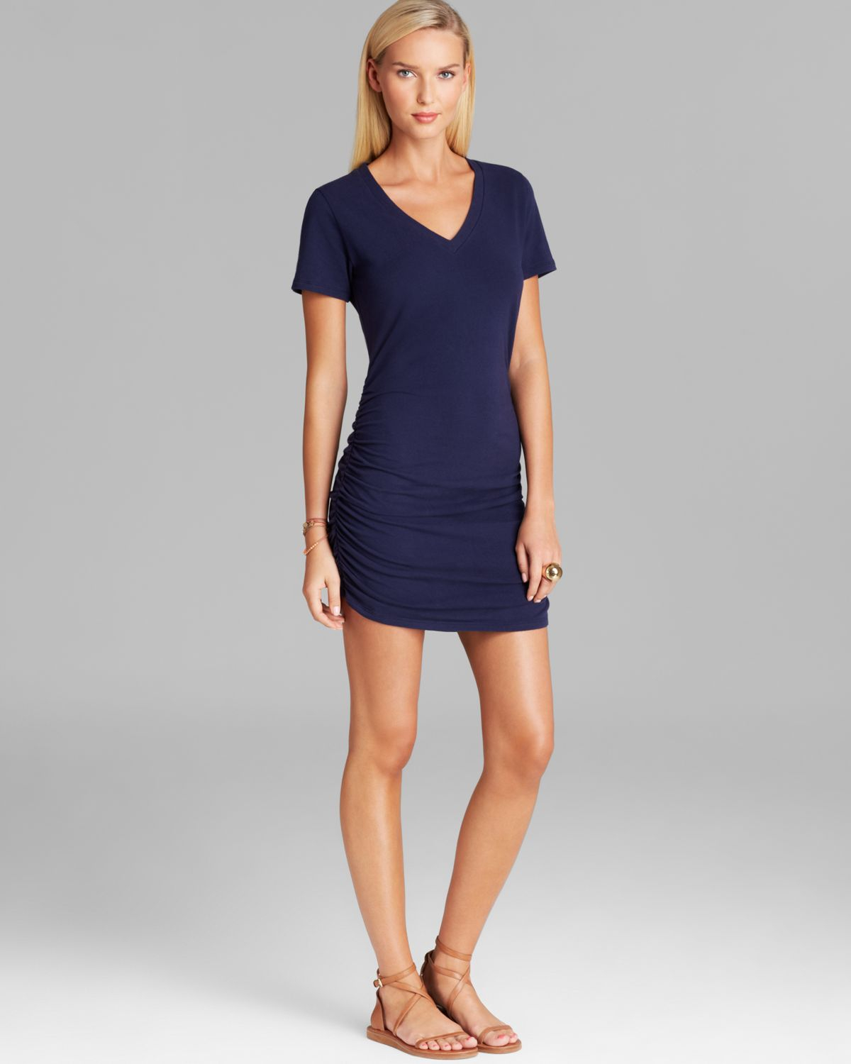 Lyst Tommy Bahama Solid Knit V Neck T Shirt Swim Cover Up Dress In