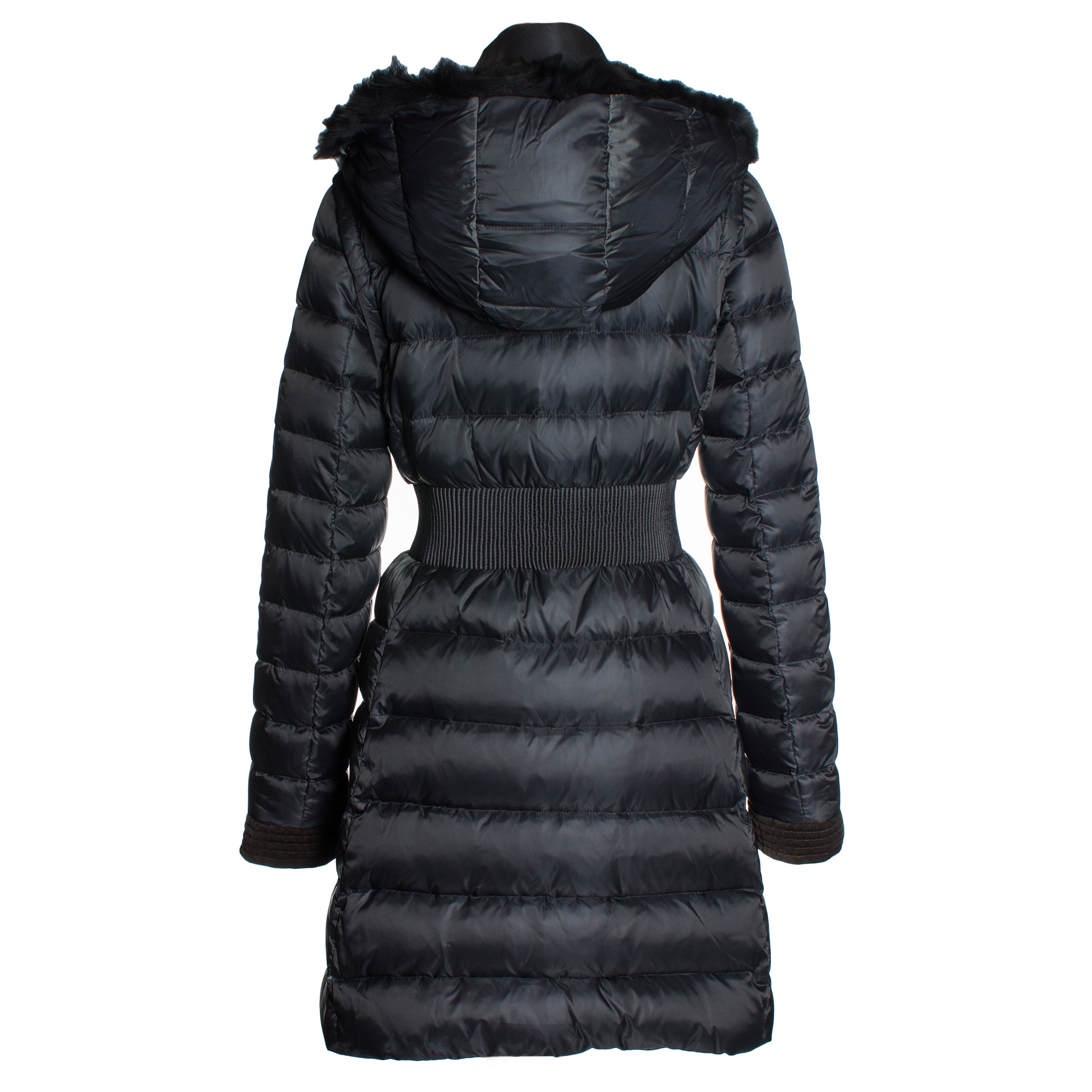 Dawn Levy Donnie Fur Trim 3 Way Puffer Coat In Black Lyst