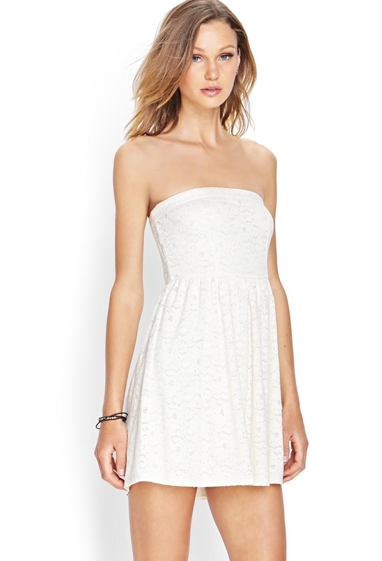 White Tube Dress Forever 21