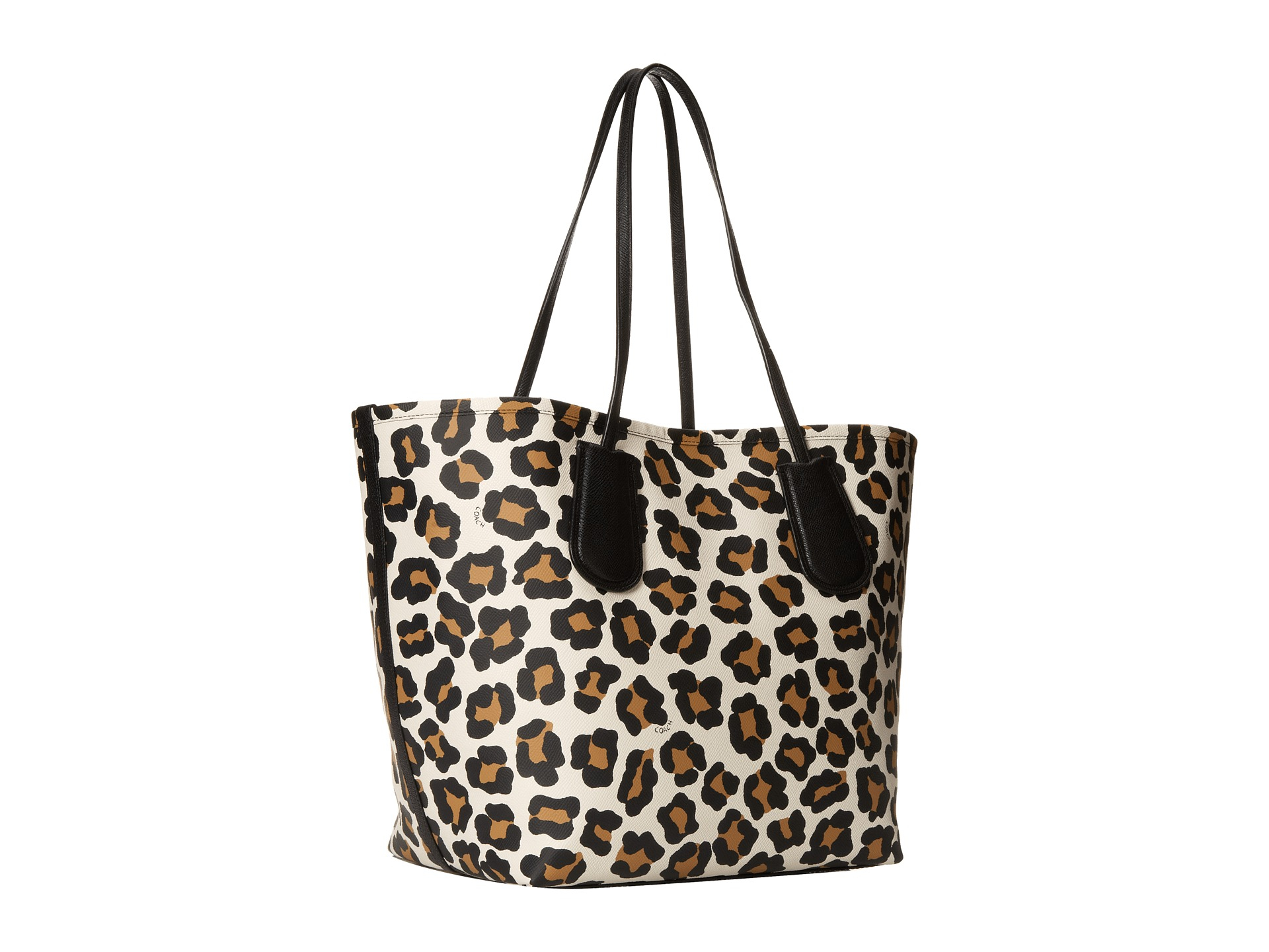 COACH Ocelot Embossed Taxi Tote 28 - Lyst