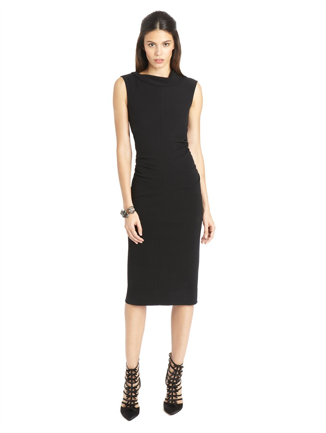 Oscar De La Renta Black Dress