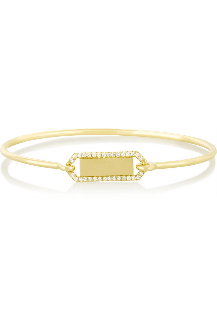 Jemma Wynne 18-karat Gold And Diamond Bracelet Meb4LuyLwv