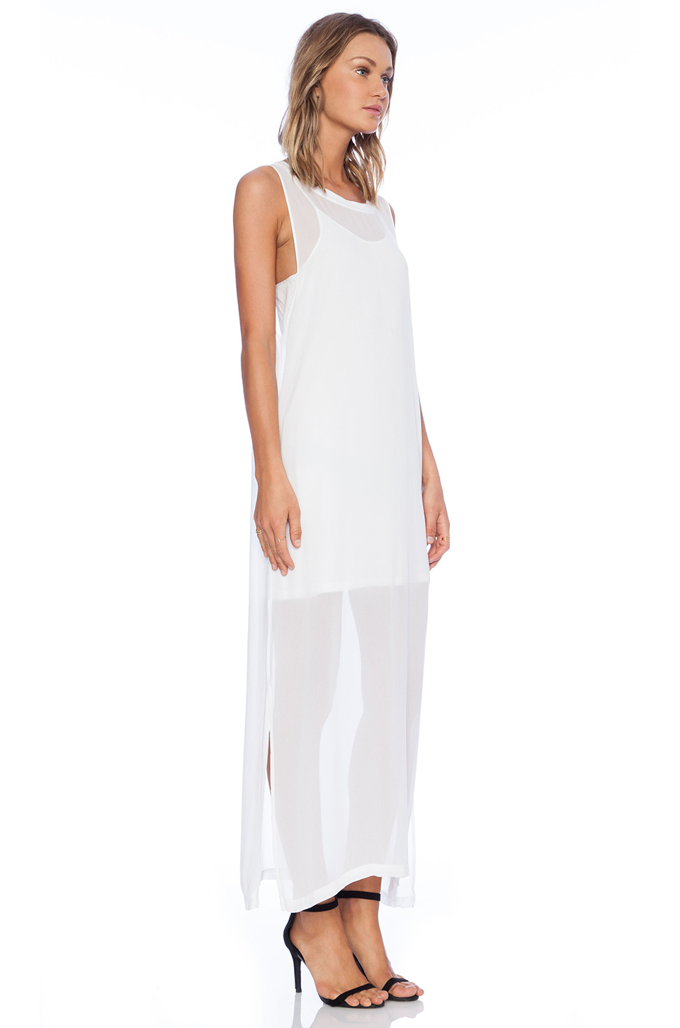 Lyst - Lacausa Dad S Shirtdress in White a47cd4166