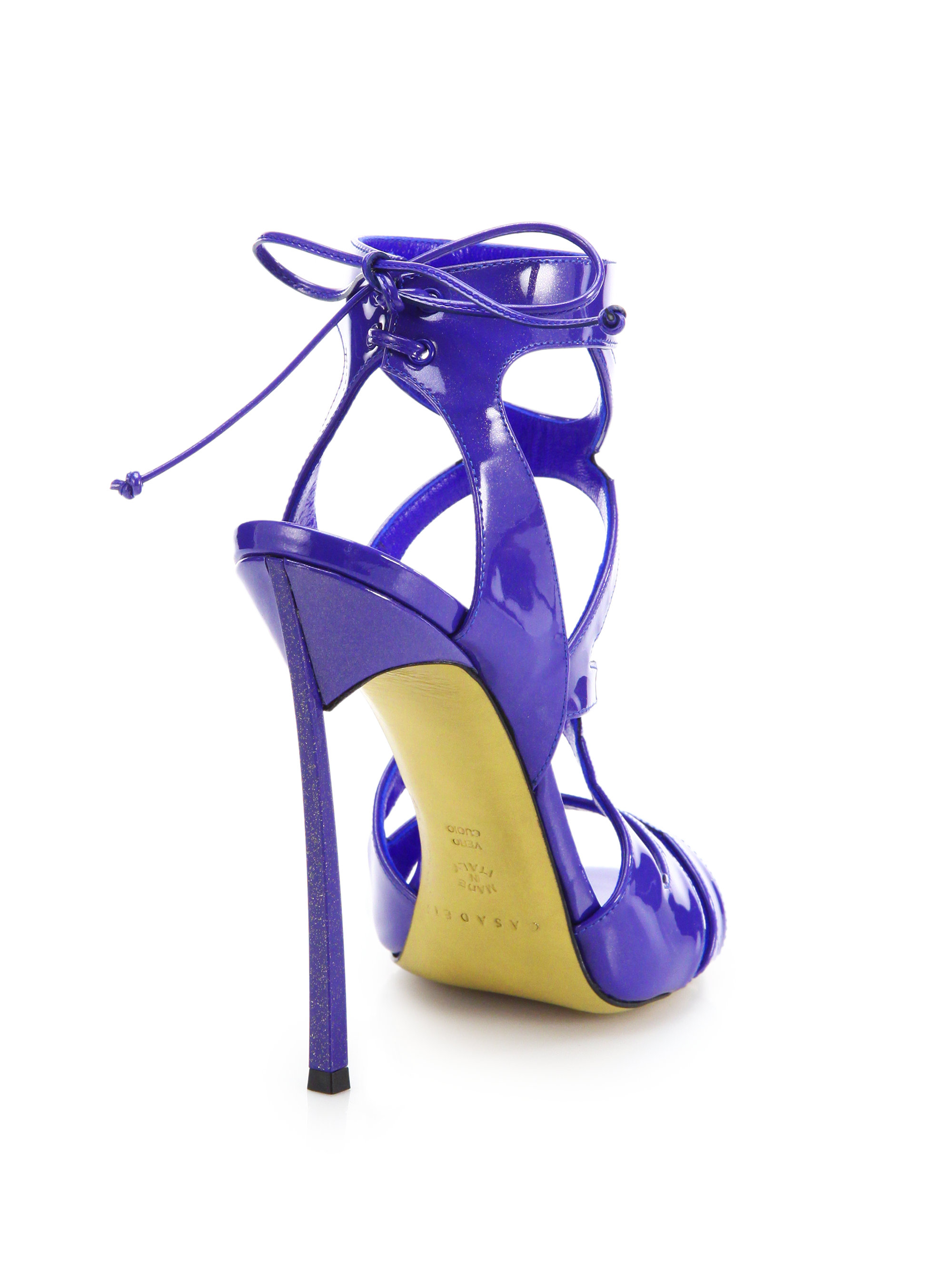 New violet pumps shoes from a guest 9
