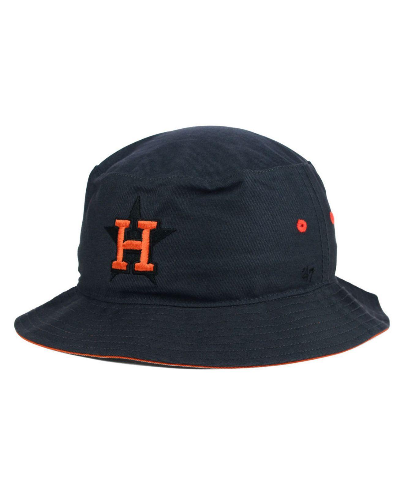 0cbd61d7dbc Lyst - 47 Brand Houston Astros Turbo Bucket Hat in Gray