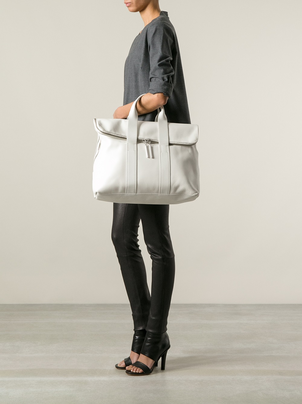 Lyst 3 1 Phillip Lim 31 Hour Tote In White
