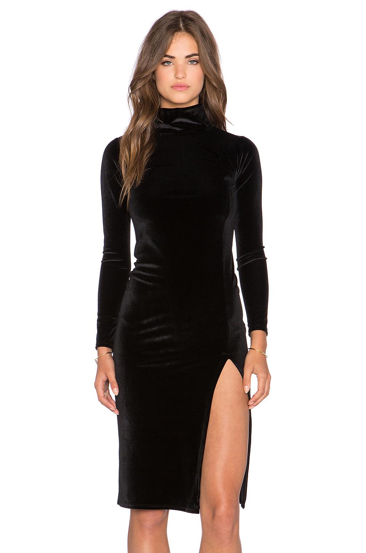 Lyst Rachel Pally Velvet Alba Dress In Black