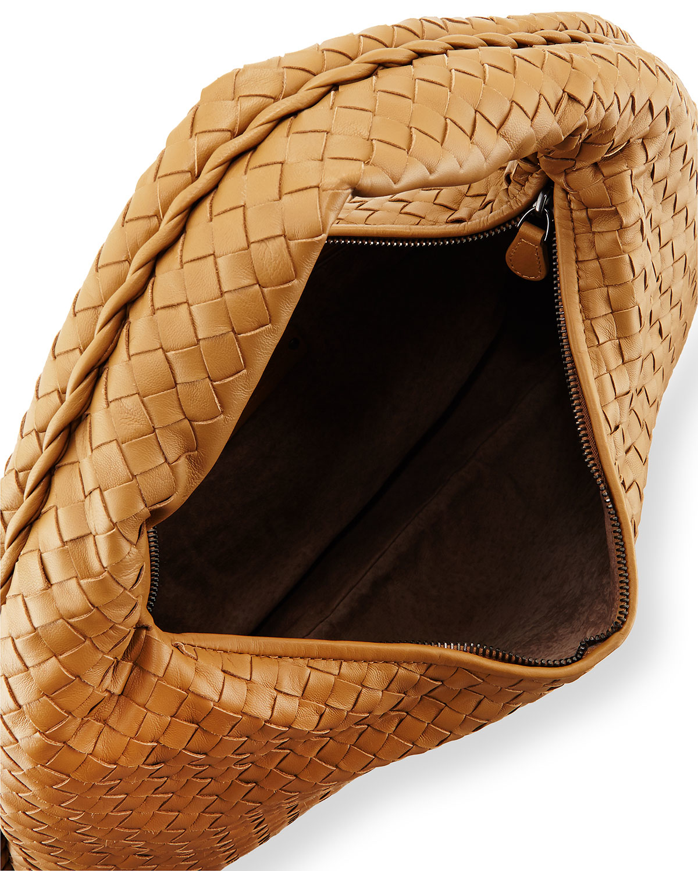 1d3772dd76 Lyst - Bottega Veneta Veneta Large Sac Hobo Bag in Brown