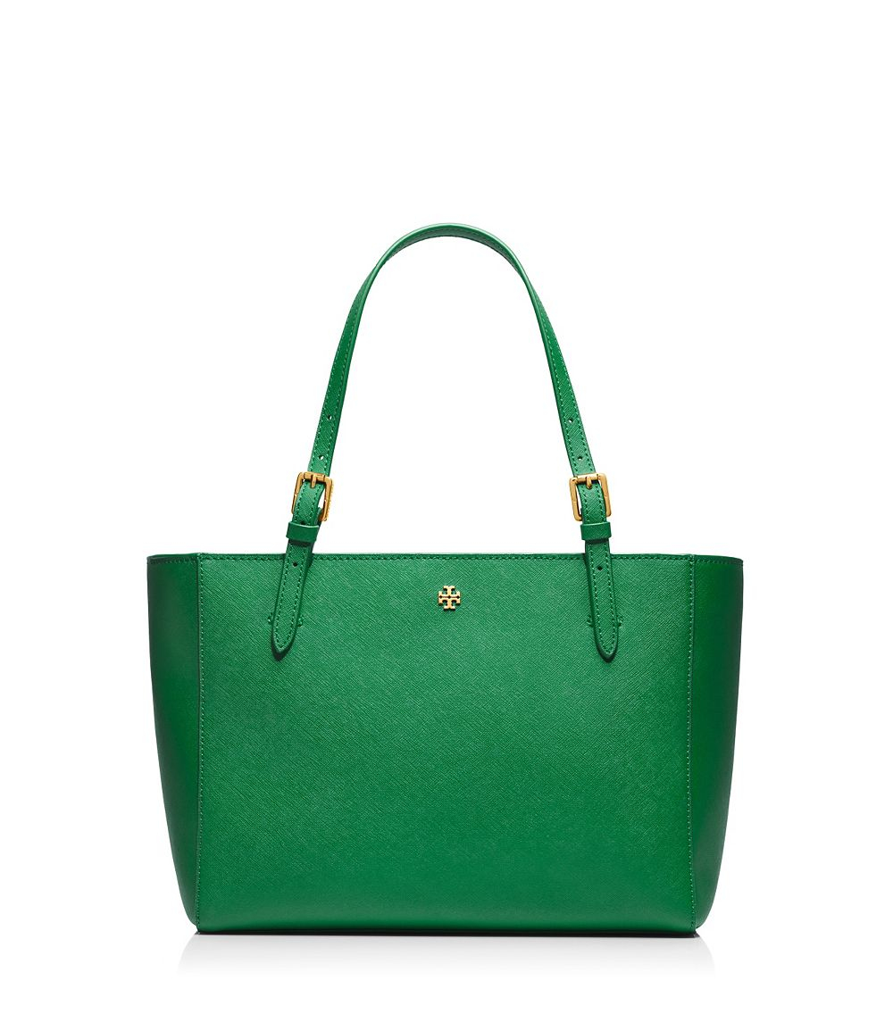 a0df7c35ce67 Lyst - Tory Burch York Small Buckle Tote in Green