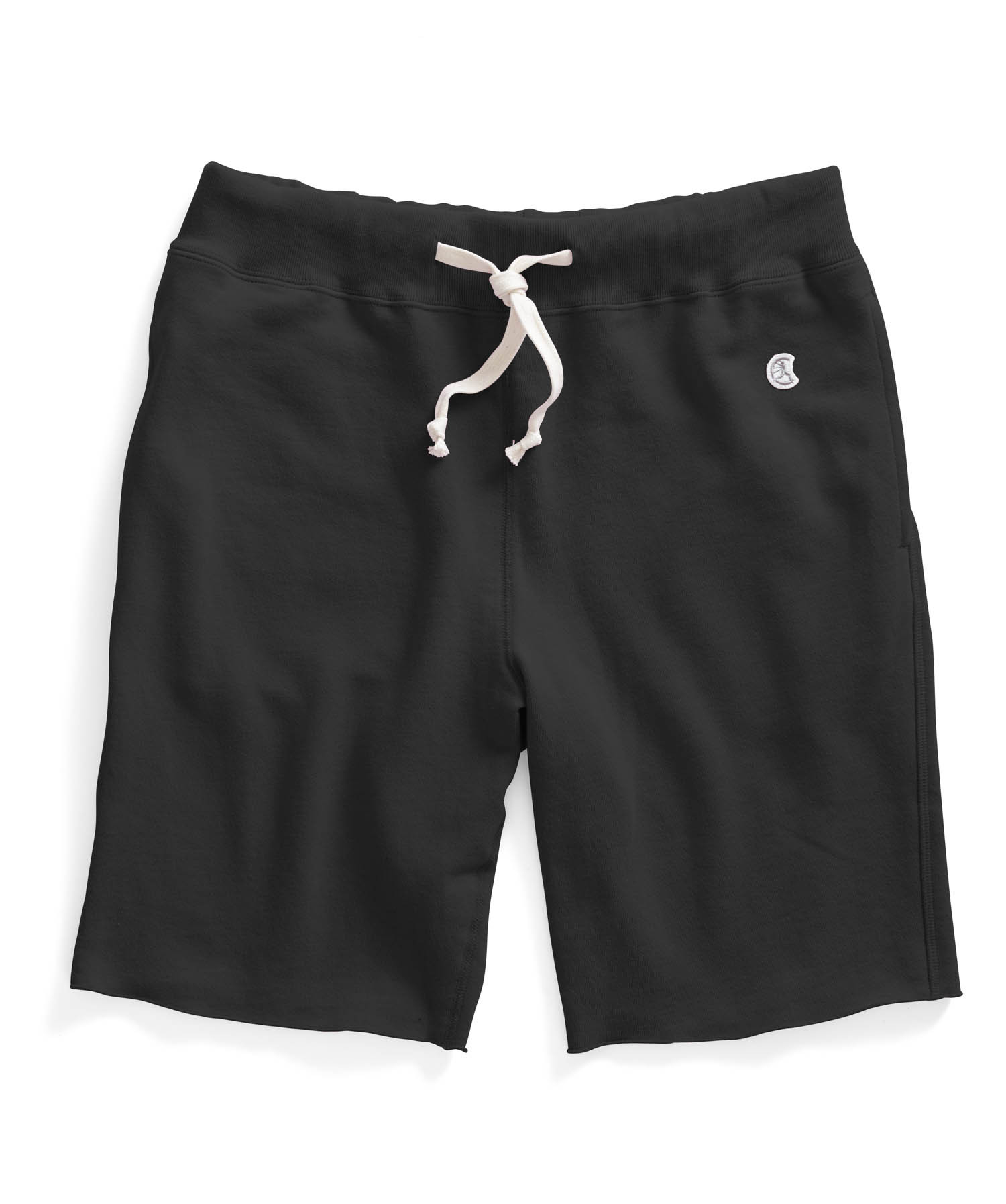 Cut Off Sweat Shorts In Black For