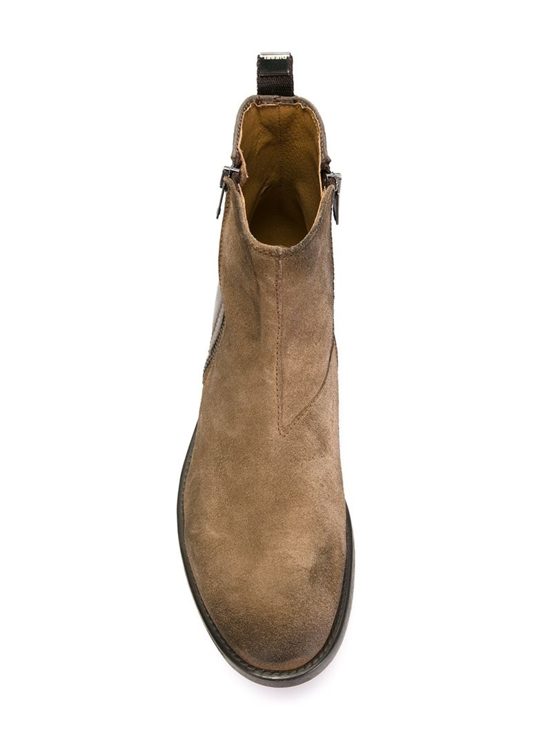 599440c28989ea Lyst - DIESEL  d-anklyx  Ankle Boots in Brown for Men