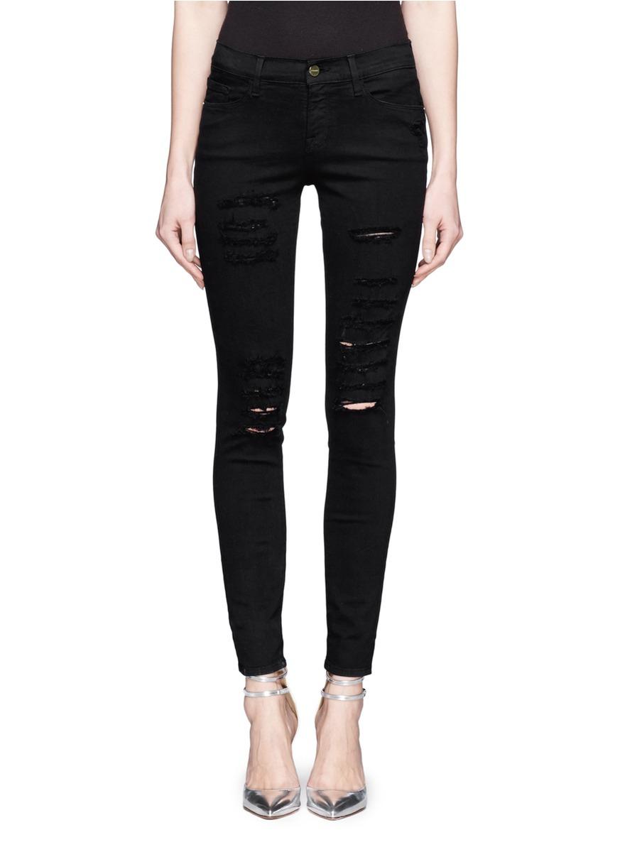 Black Slim Fit Jeans Mens