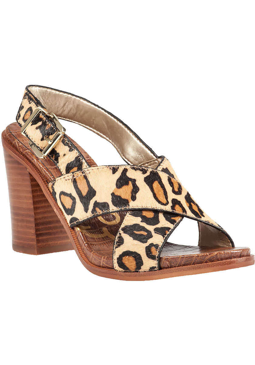 Lyst Sam Edelman Ivy Leopard Print Sandals