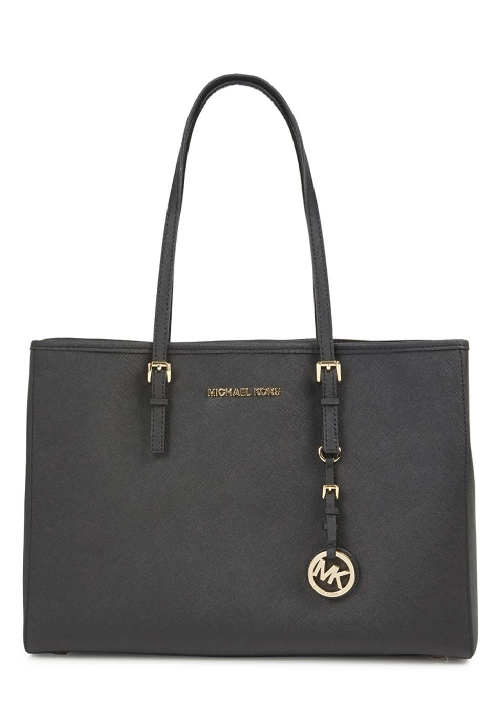 06ad332b9778 Black Saffiano Leather Bag Michael Kors | Stanford Center for ...