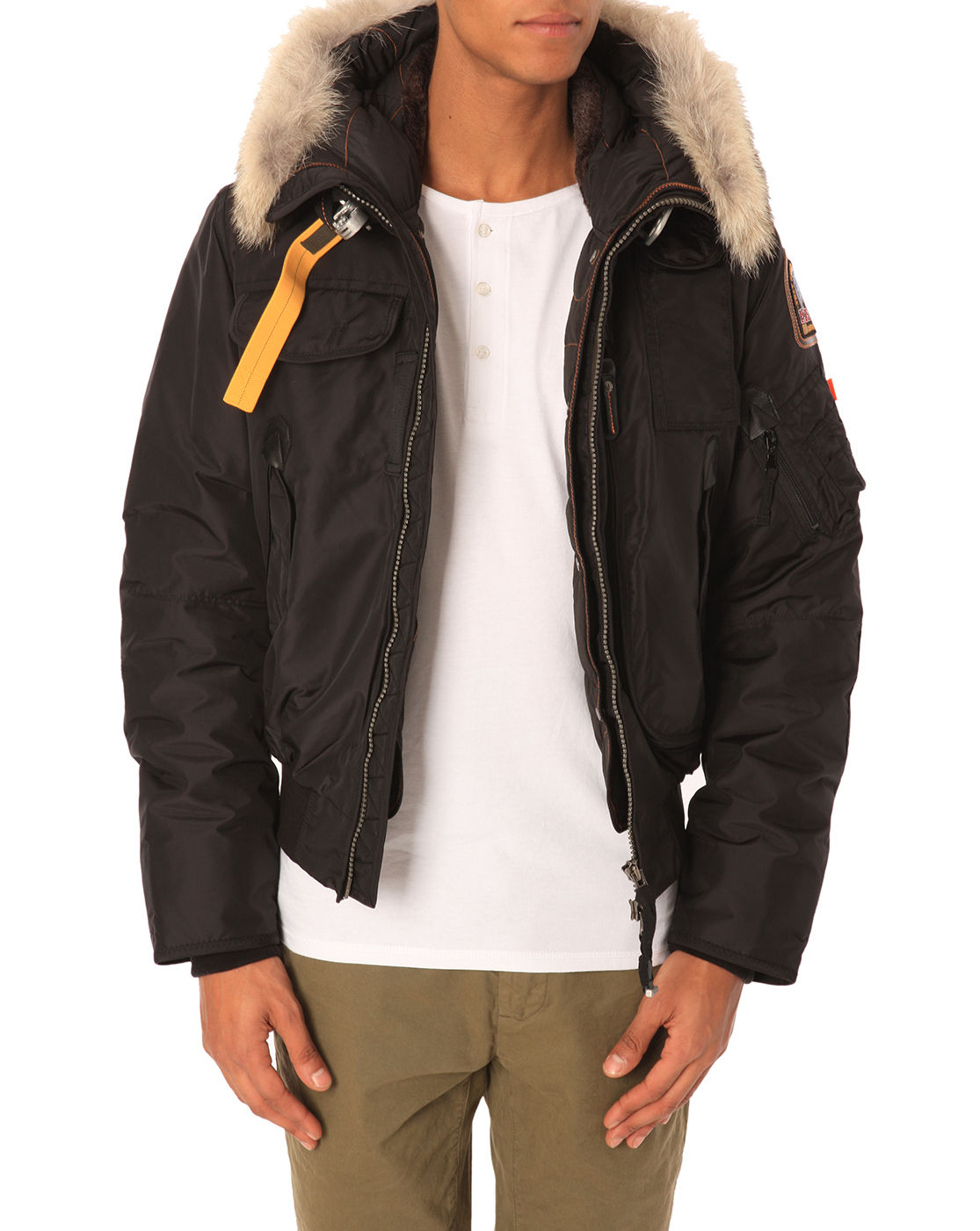 parajumpers ugo mens jacket black
