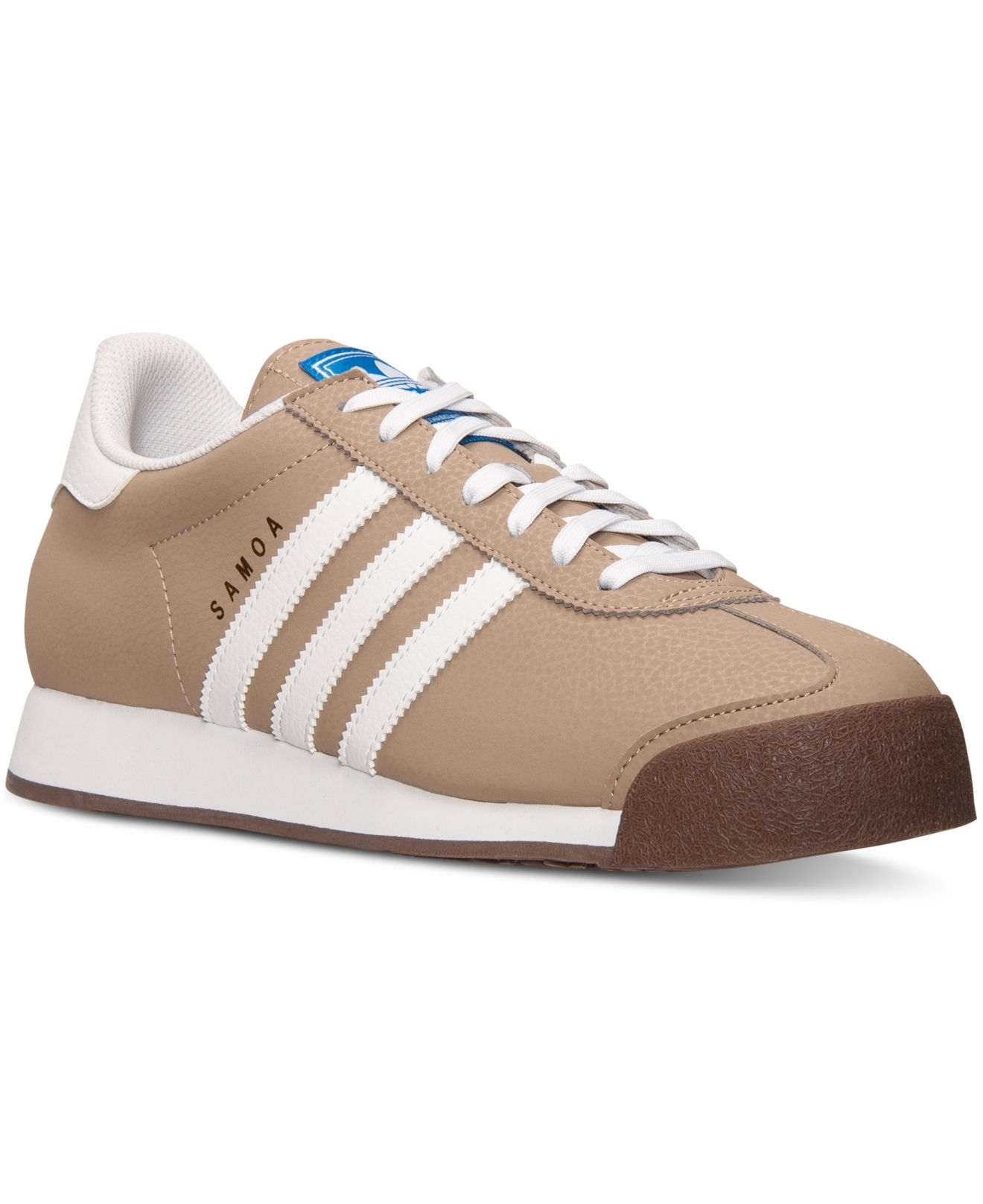online store 87967 936a1 Lyst - adidas Men s Samoa Casual Sneakers From Finish Line in White ...