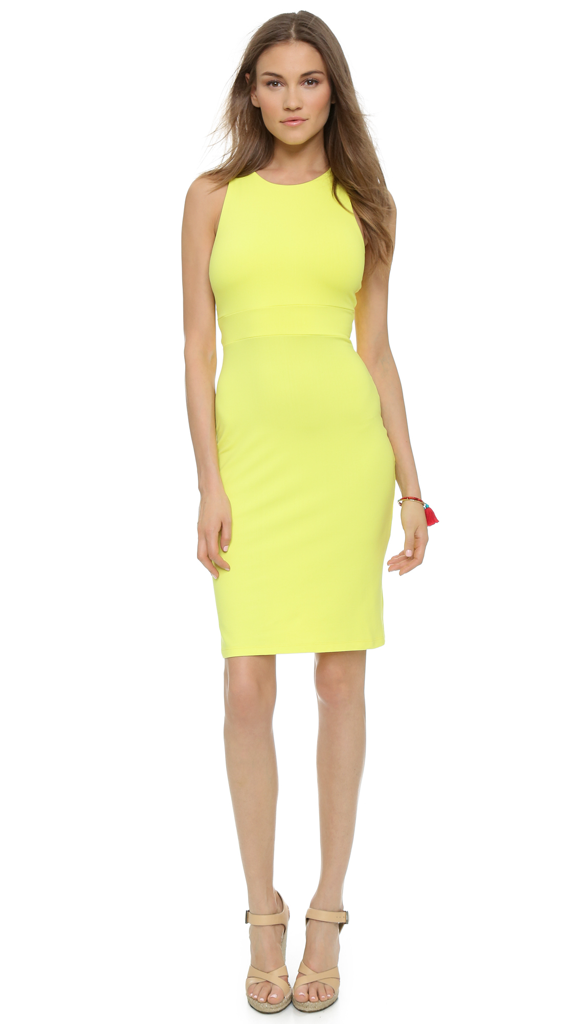 Womens Yellow Dress Photo Album - The Fashions Of Paradise