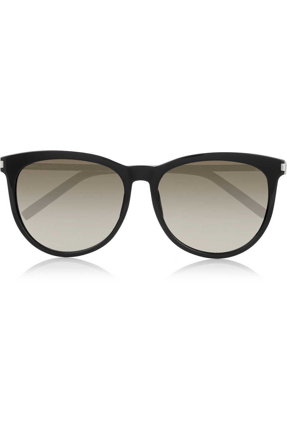6911ed4f30a Lyst - Saint Laurent D-Frame Acetate And Metal Sunglasses in Black
