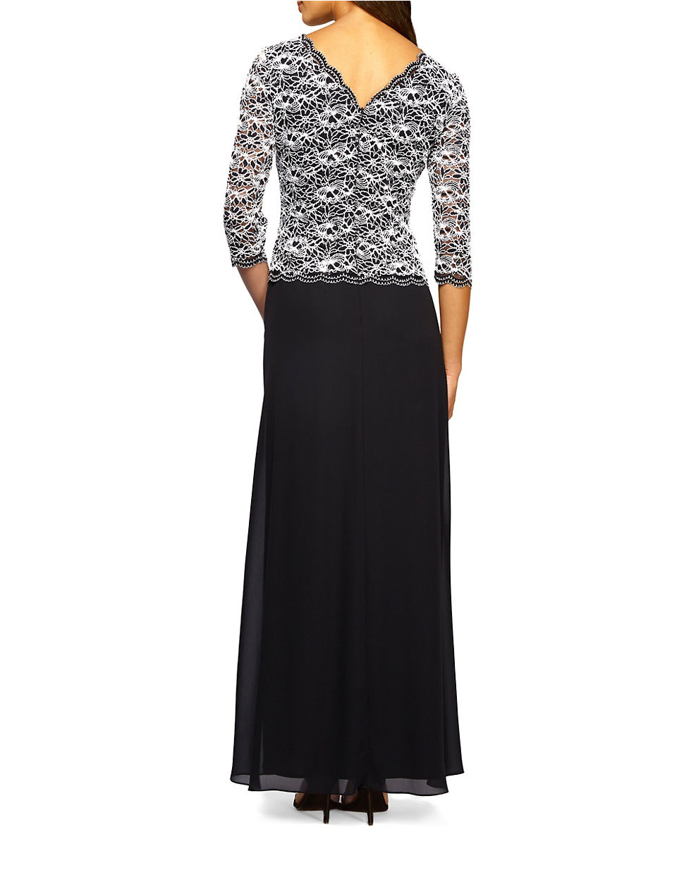 d85621a3310af Alex Evening Dresses Lord And Taylor