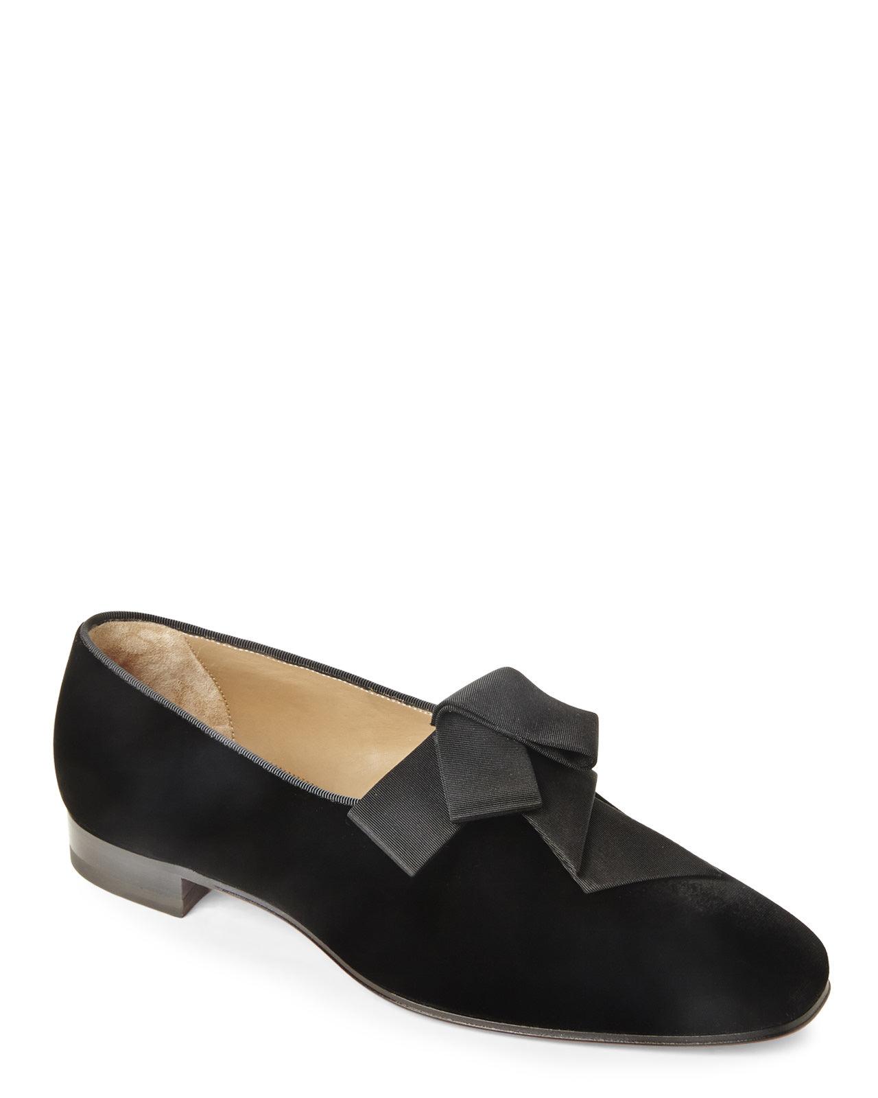 23ce14160225 Christian louboutin Black Mr. Grant Loafers in Black for Men