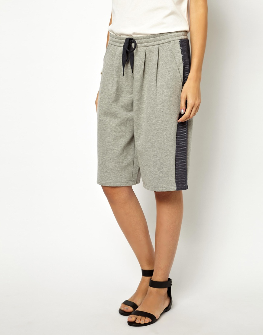 Won hundred Basketball Shorts in Mesh Jersey in Gray | Lyst