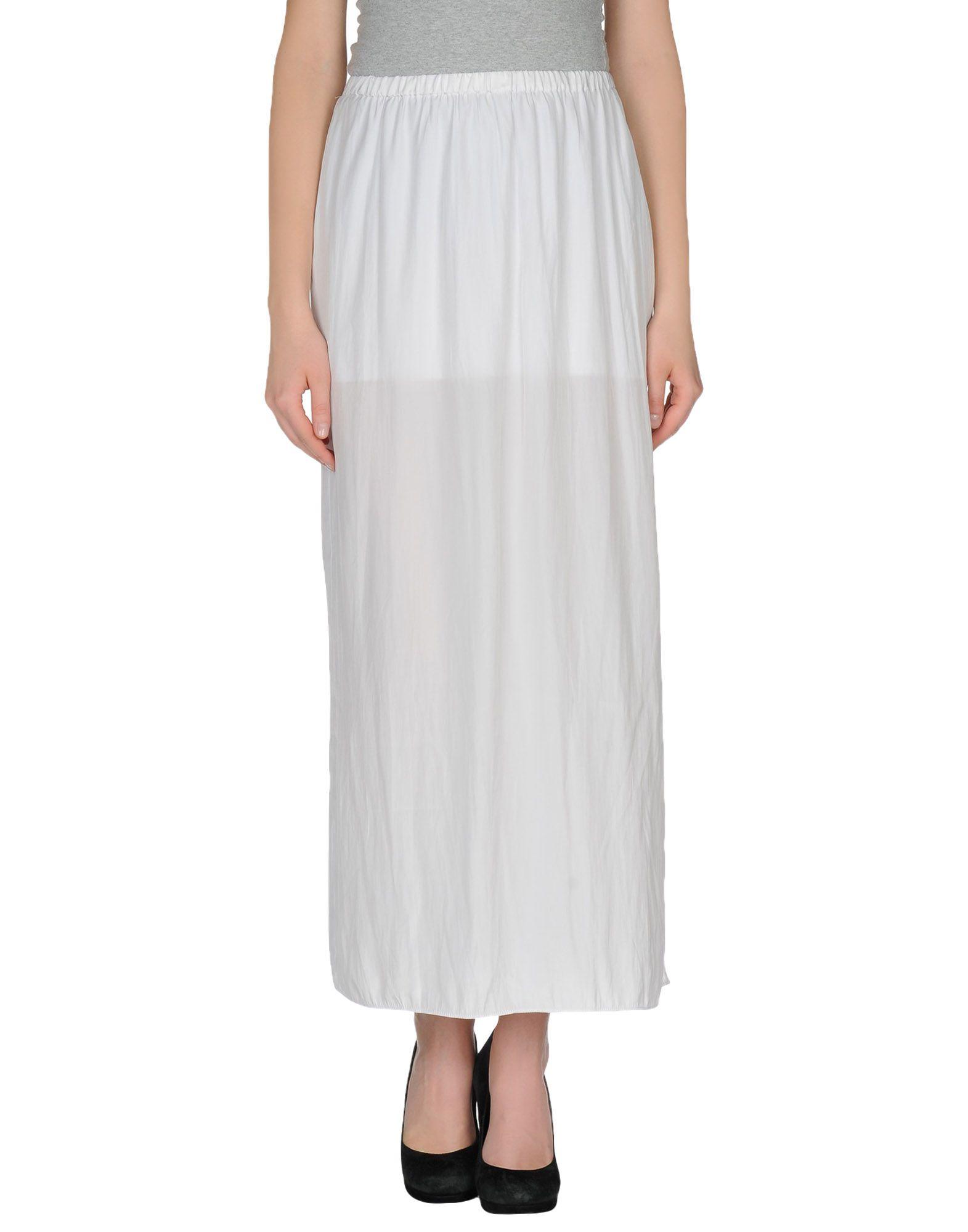 Long Skirt White - Masturbation Network-2458