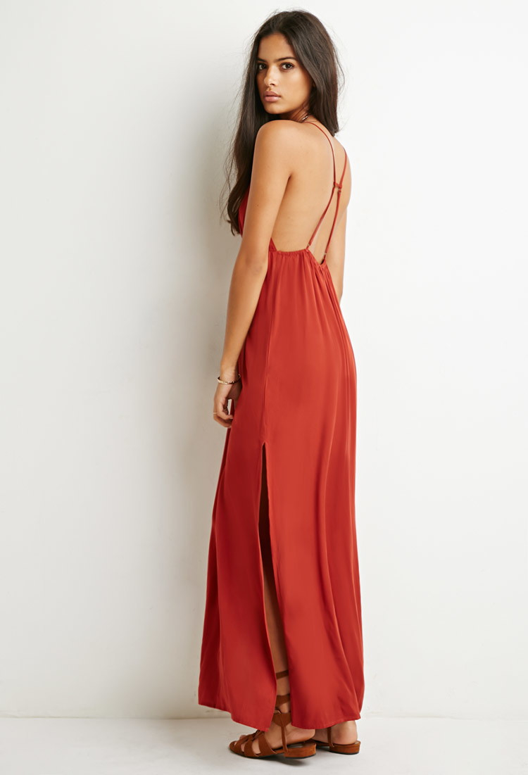 Forever 21 red dress maxi dresses