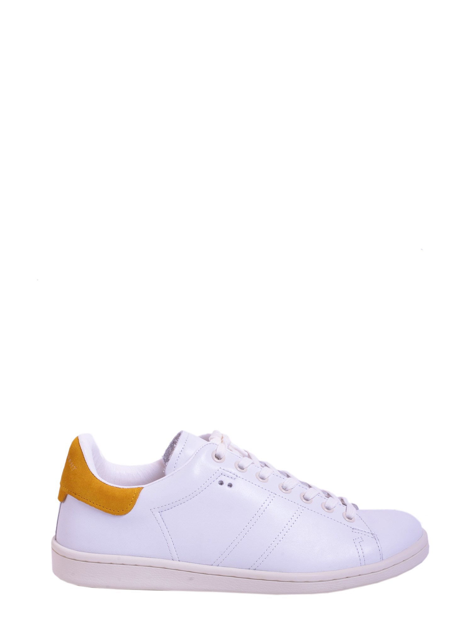 toile isabel marant bart sneakers in white bianco lyst. Black Bedroom Furniture Sets. Home Design Ideas