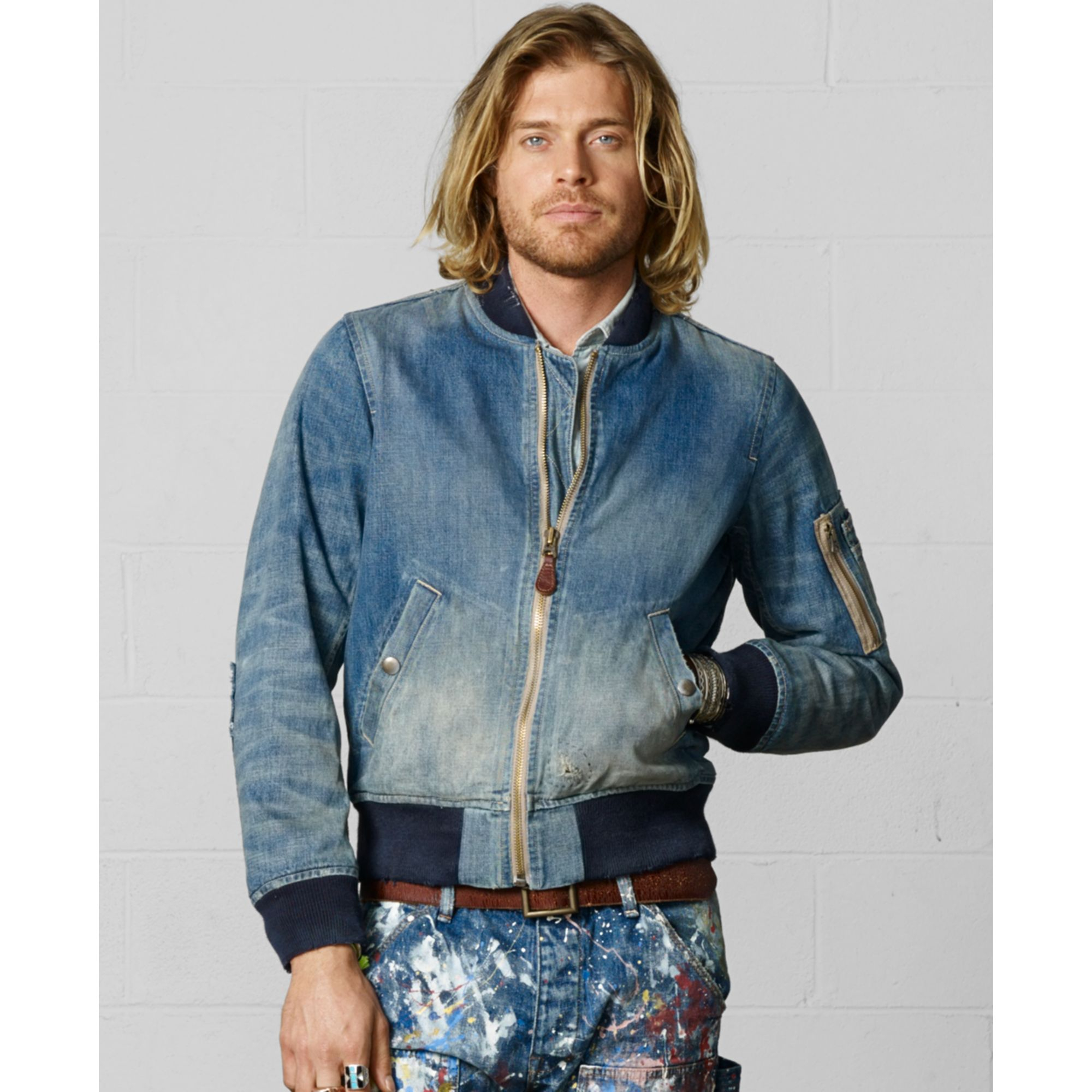 Lyst - Denim u0026 Supply Ralph Lauren Lassen Denim Jacket in Blue for Men