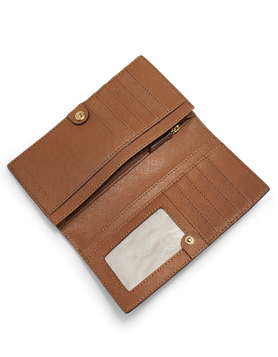 30f968932112 Michael Kors Saffiano Leather Slim Wallet | Stanford Center for ...