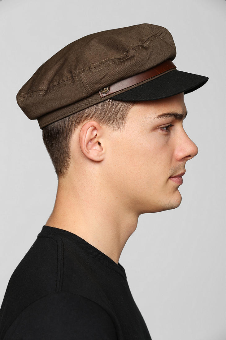 Lyst - Urban Outfitters Brixton Fiddler Fisherman Cap in Natural for Men d4a960131e7