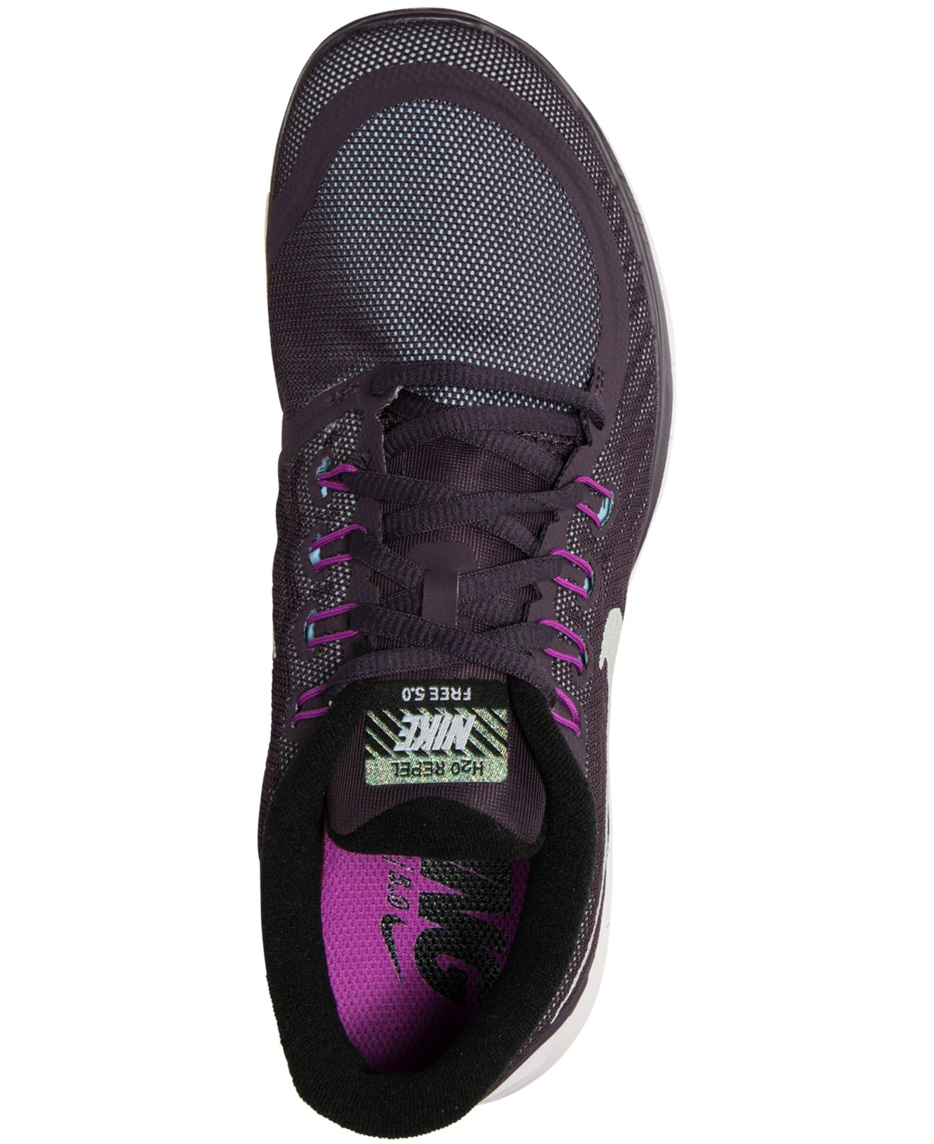 Lyst - Nike Women s Free 5.0 Flash Running Sneakers From Finish Line in  Purple for Men 963c6881fb