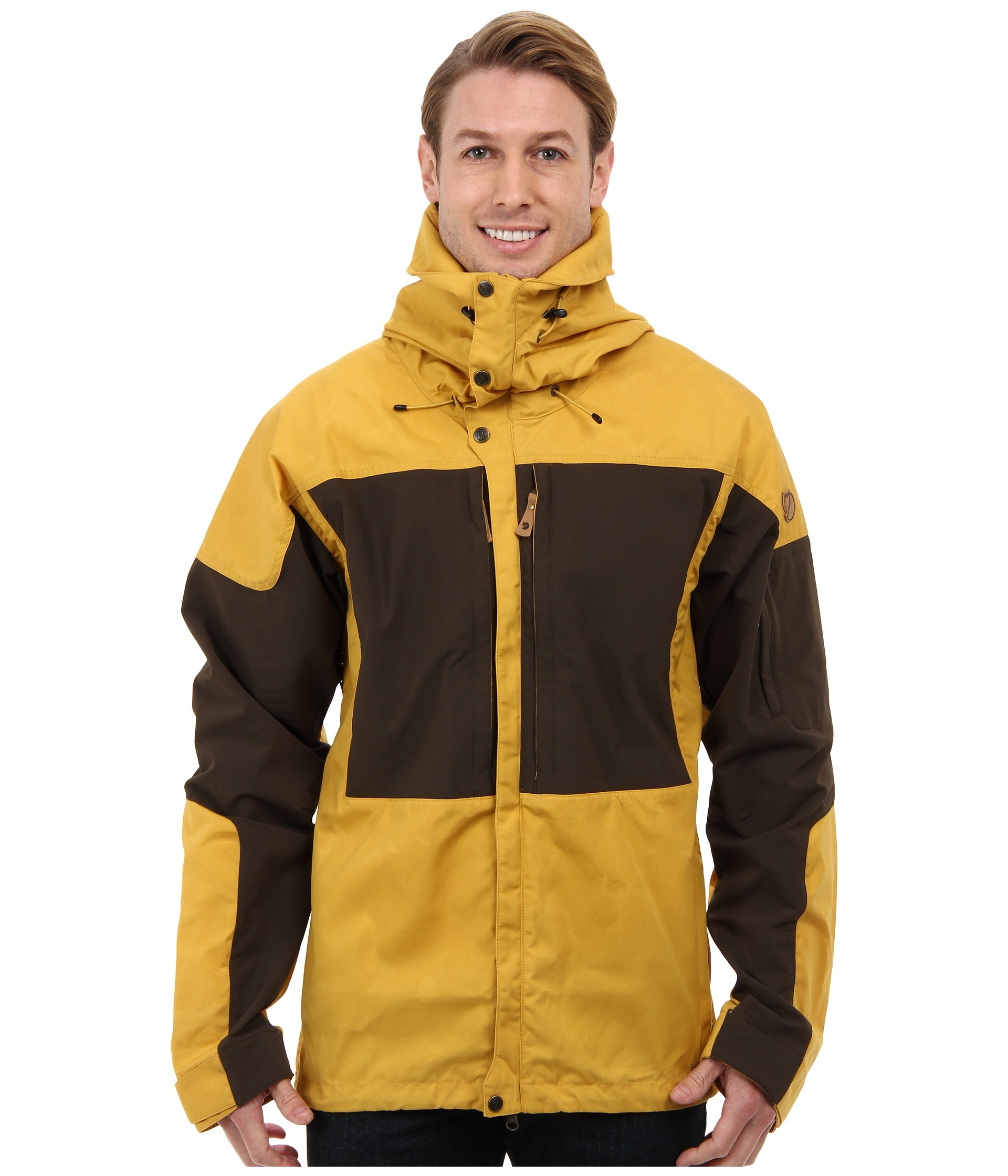 Fjallraven keb jacket yellow