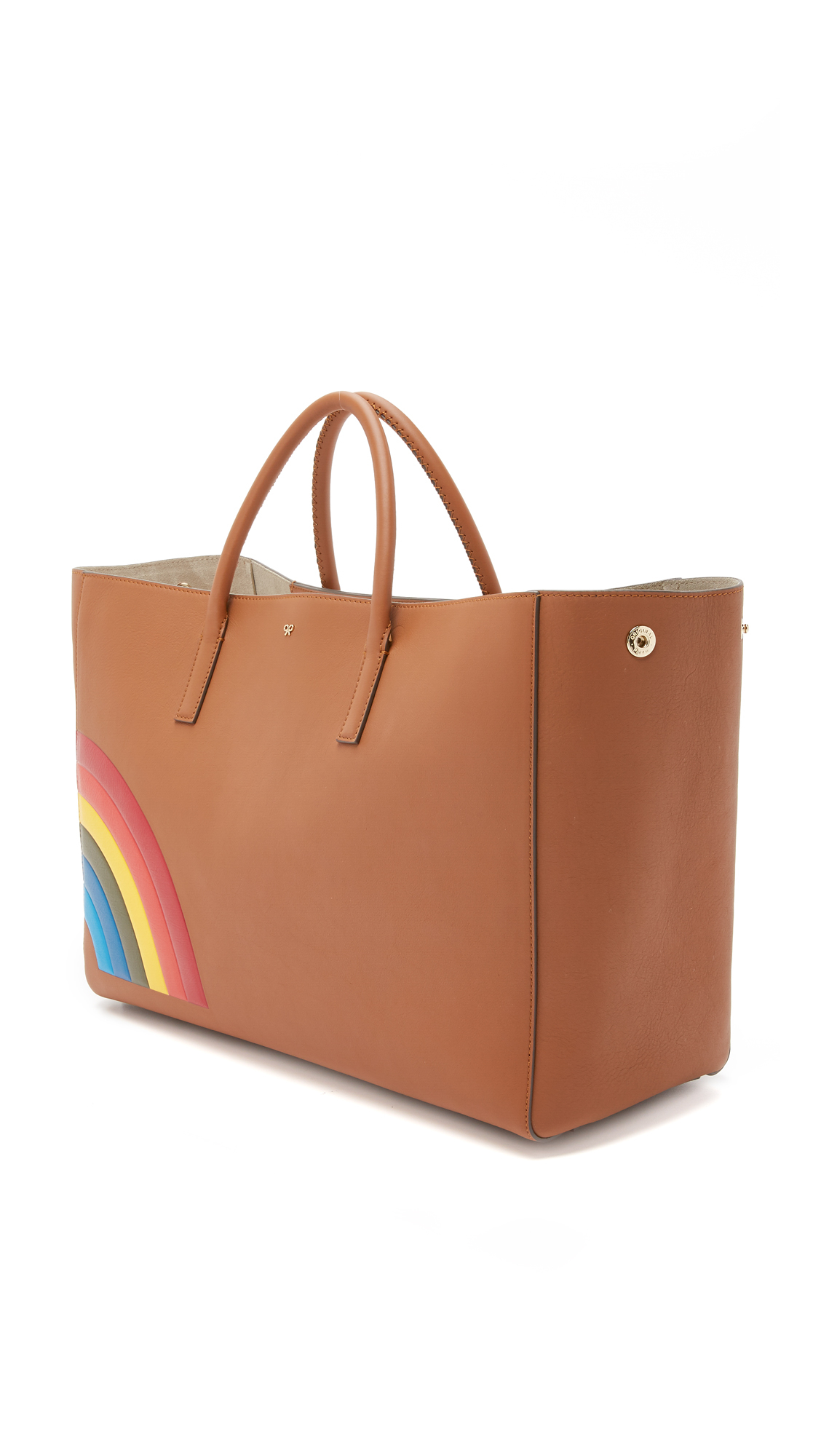 Anya hindmarch Rainbow Ebury Maxi Tote in Brown
