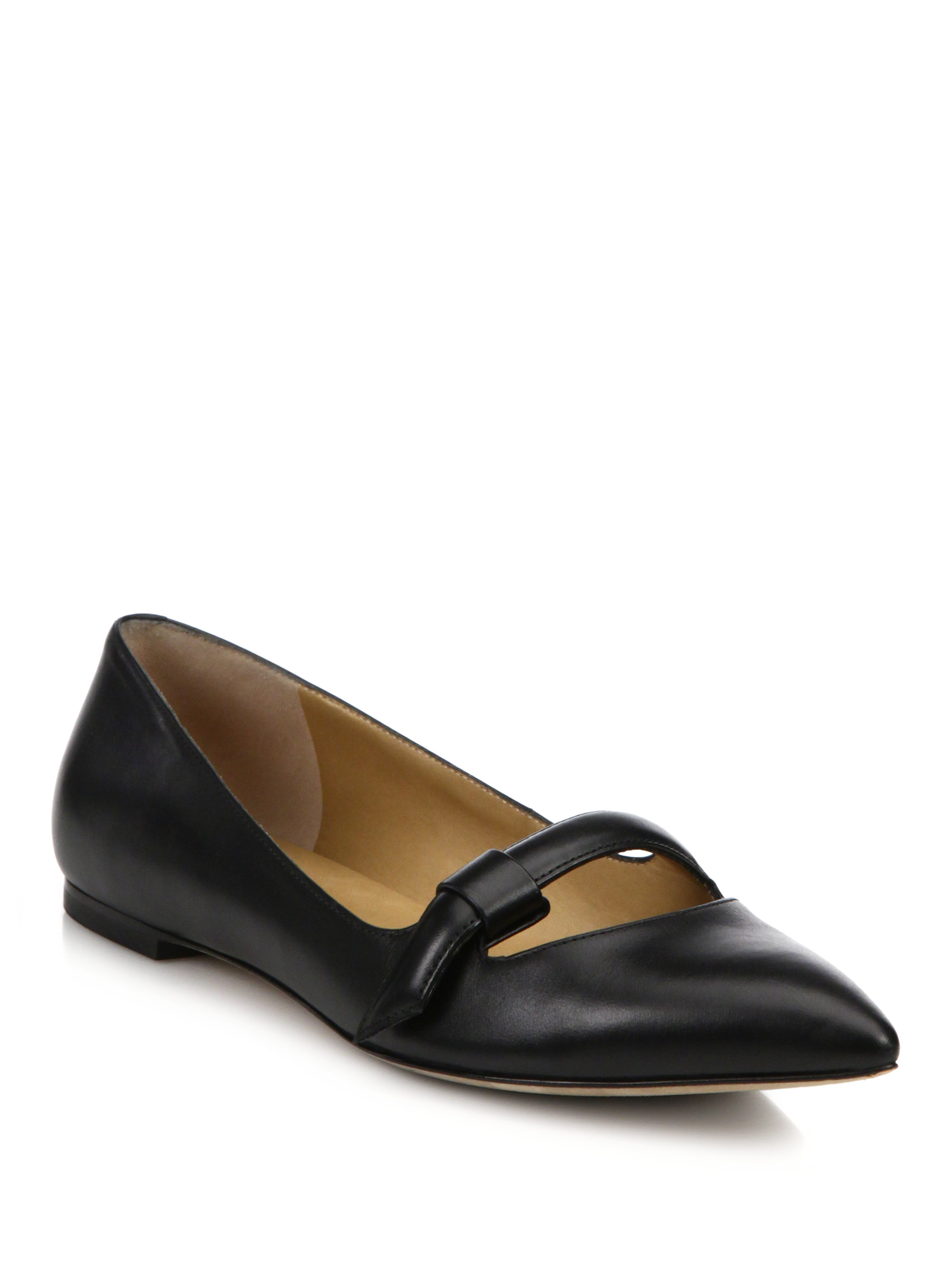 Marc by marc jacobs Seditionary Point-toe Mary Jane Flats ...