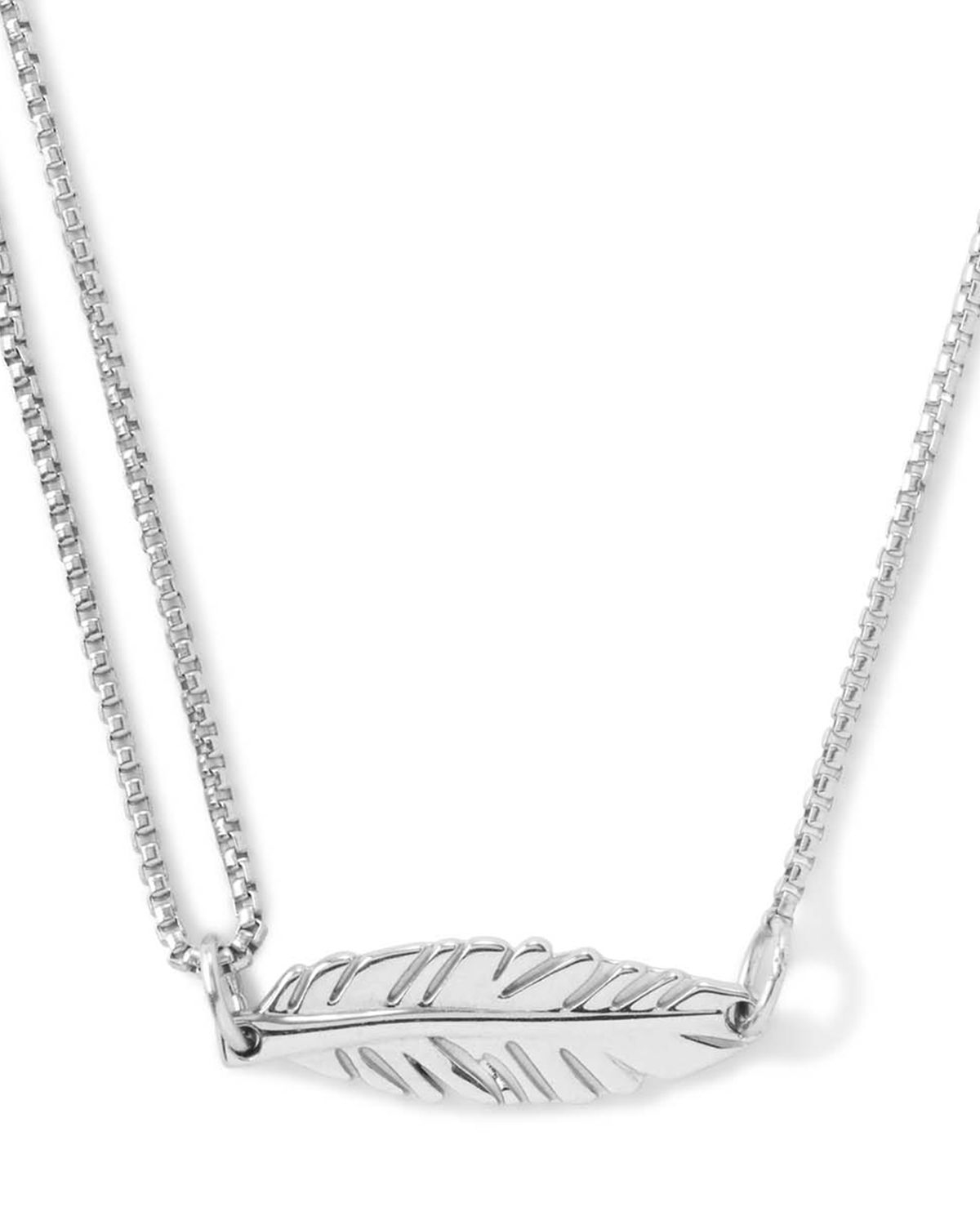 Lyst Alex And Ani Precious Metals Symbolic Feather Pull Chain