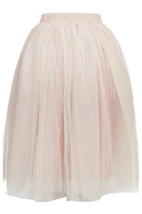 Topshop Layered Tutu Midi Skirt By Rare in Pink | Lyst
