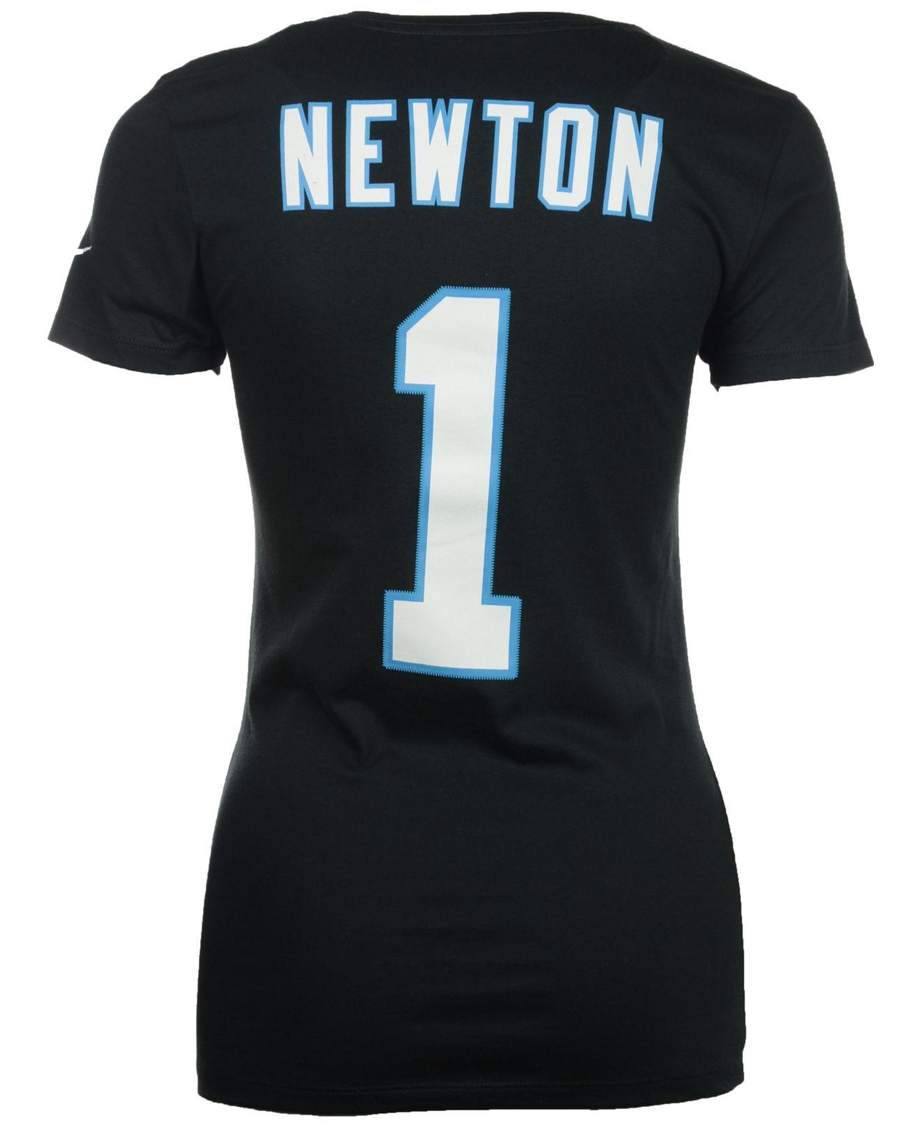 Nike Women 39 S Cam Newton Carolina Panthers Player Pride T