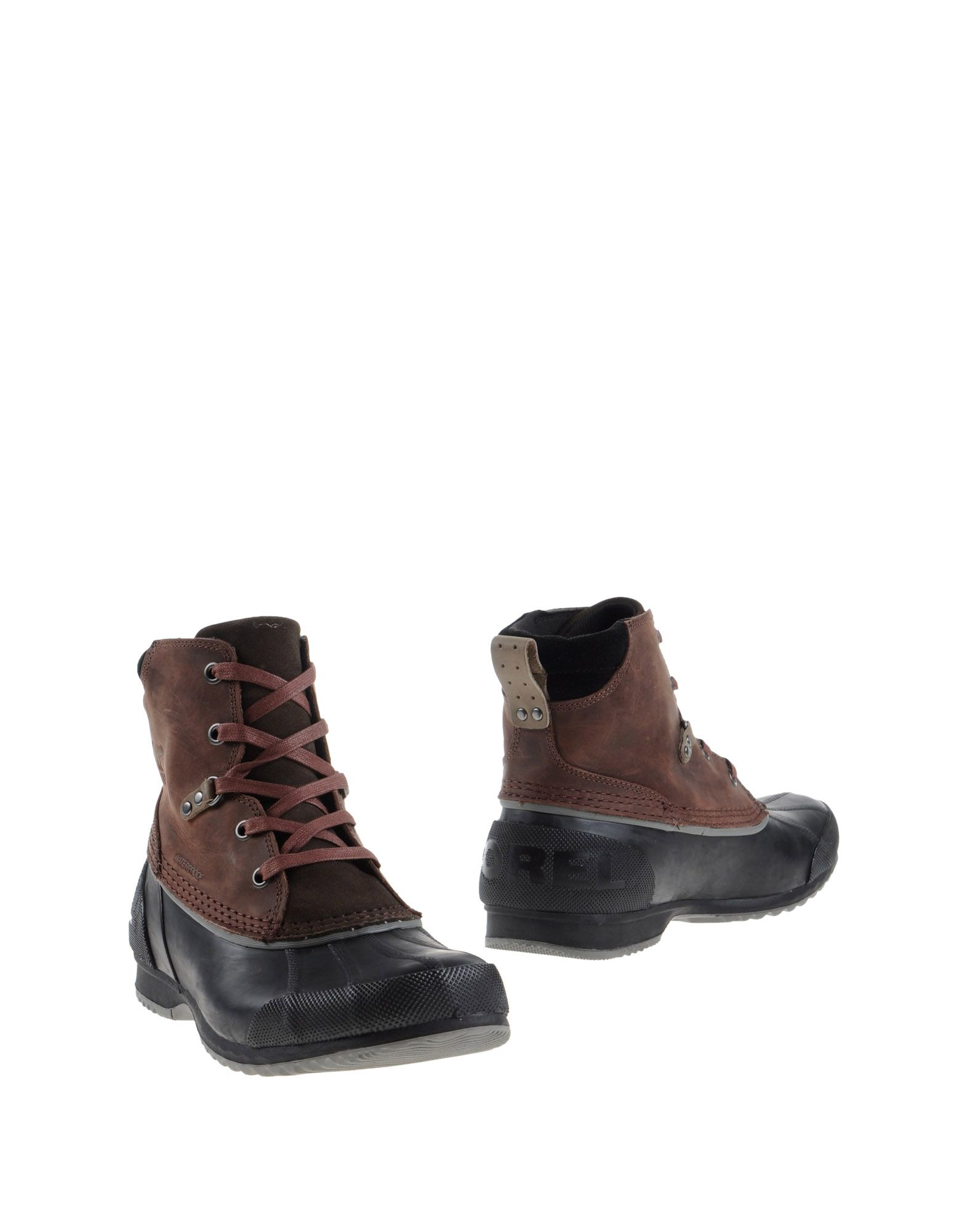 sorel ankle boots in brown for lyst