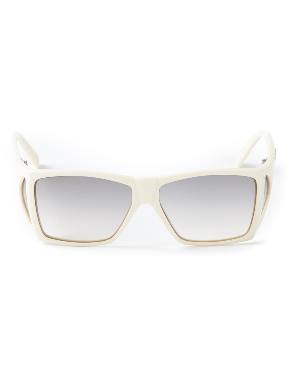 Square Frame Versace Glasses : Versace Square Frame Sunglasses in White Lyst