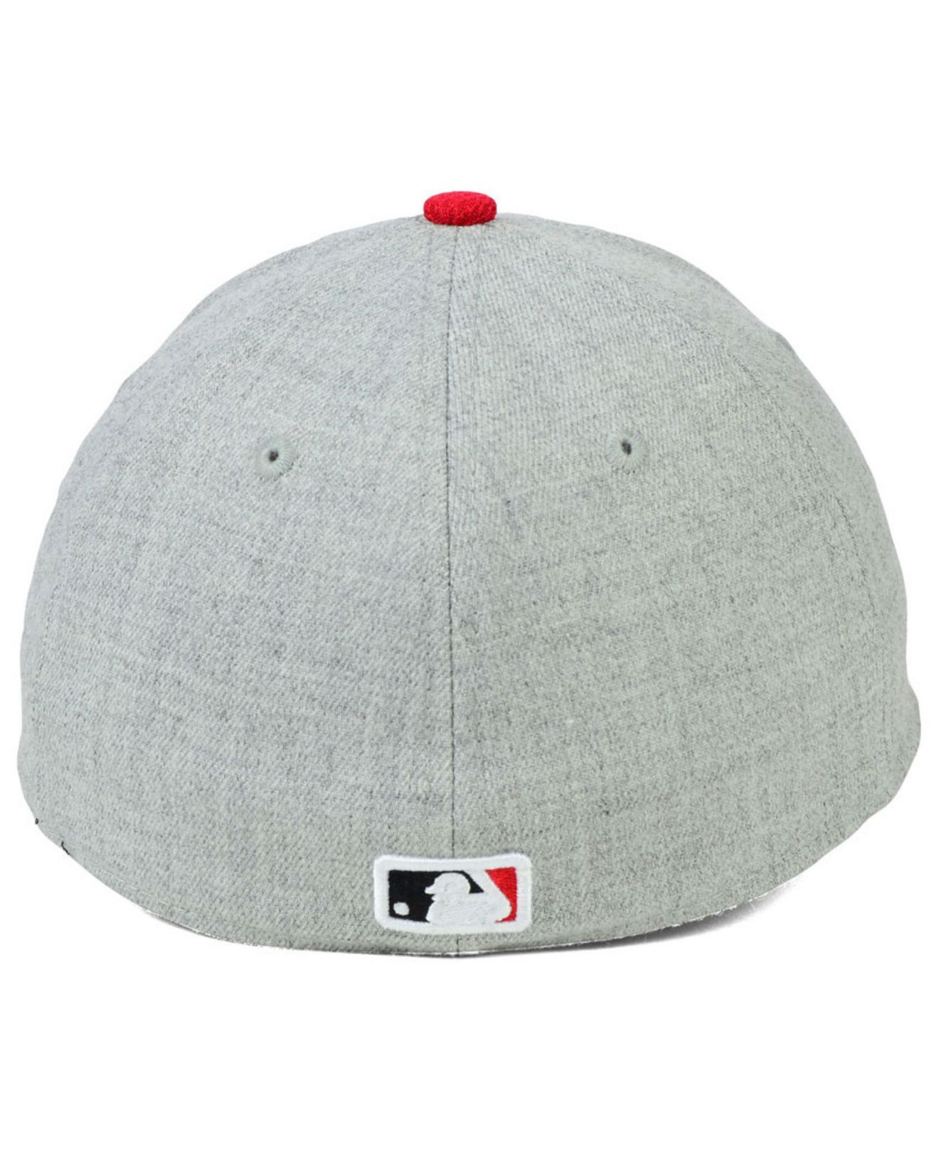 6397e0ebc0f ... new era black the league 9forty adjustable hat c4700 5b2d5  germany  lyst ktz cincinnati reds clubhouse 39thirty cap in gray for men 6402a 8a67b