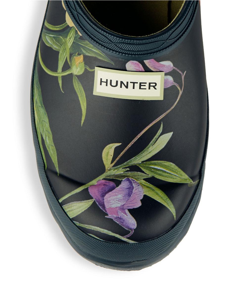 Hunter Garden Clogs
