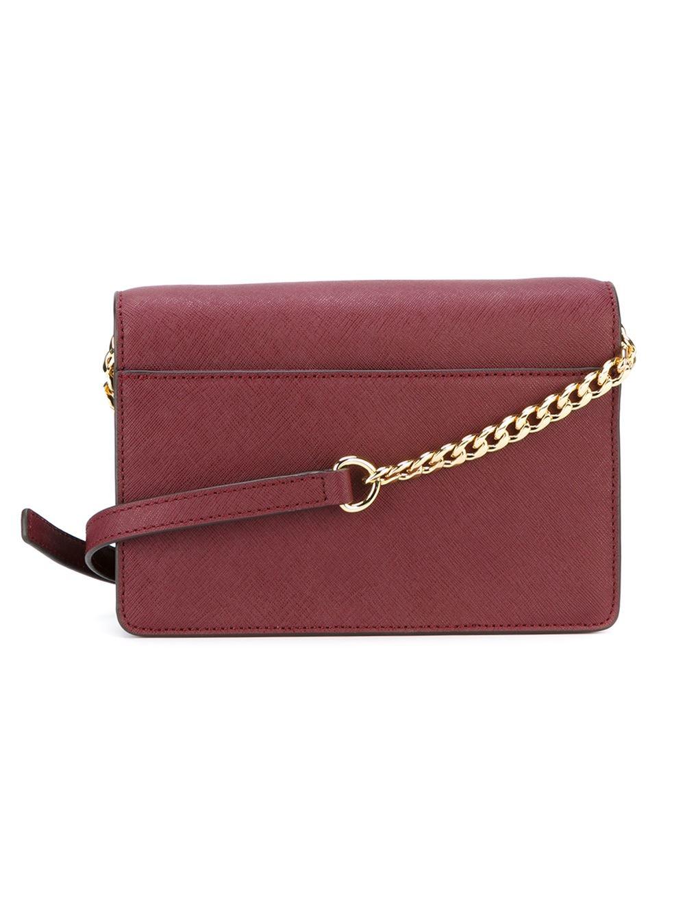 e8ce07d5c769 MICHAEL Michael Kors 'daniela' Crossbody Bag in Purple - Lyst