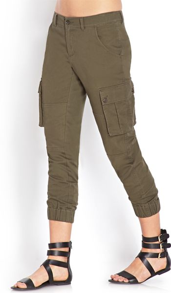 Luxury Women39s Cargo Jogger Pants By REDFOXWEAR On Etsy