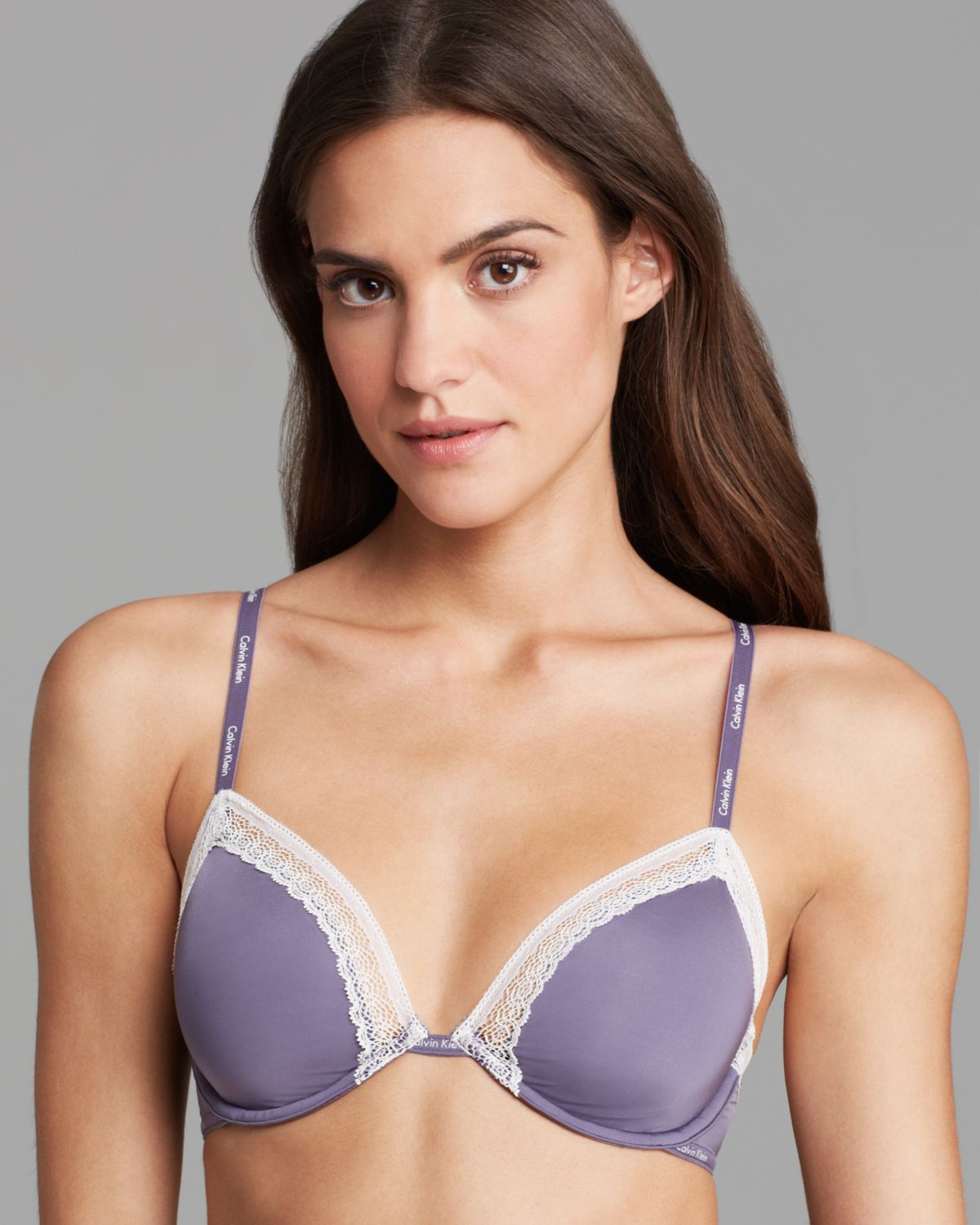 09624d076fc Lyst - Calvin Klein Underwire Bra Perfectly Fit Sexy Signature ...
