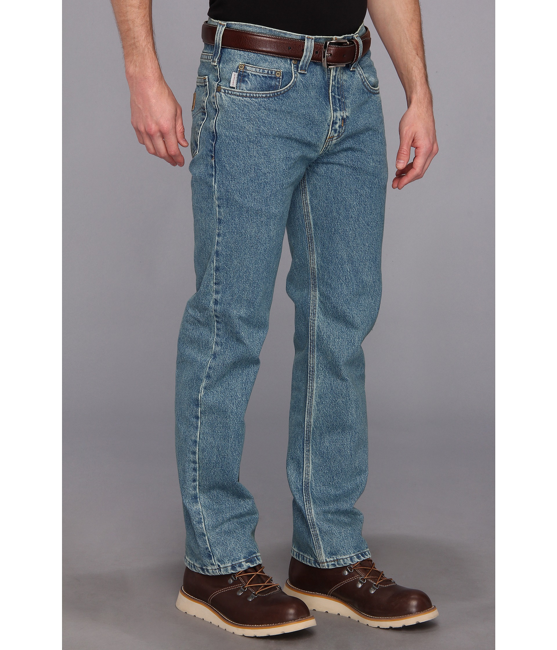 c179b7a63ba Carhartt Traditional Fit Straight Leg Jean in Blue for Men - Lyst