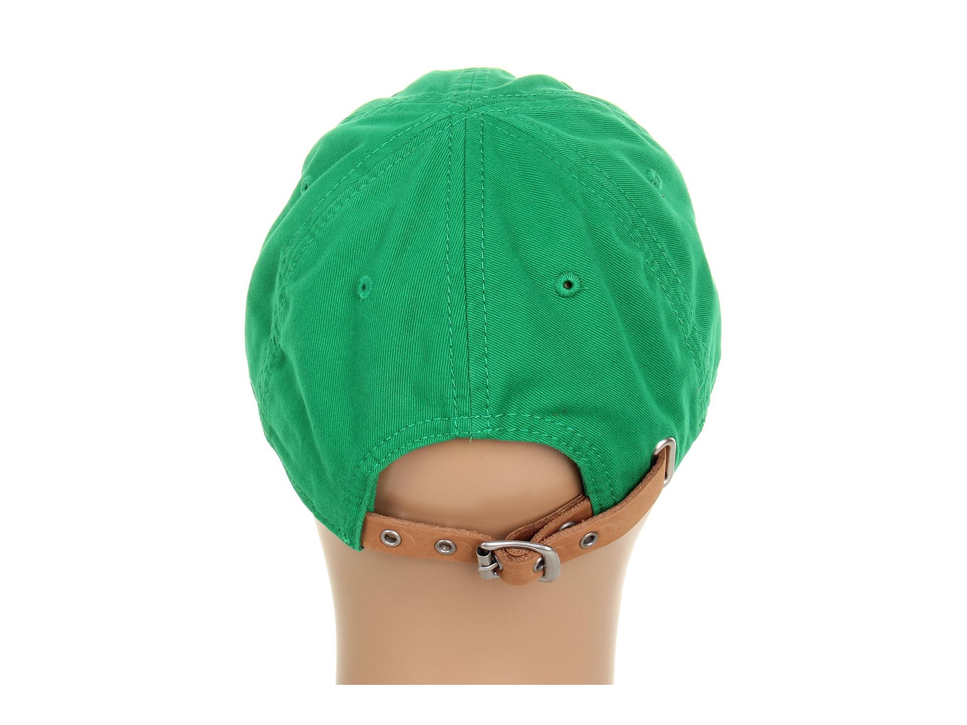 ca21987d51c Lyst - Lacoste Large Croc Gabardine Cap in Green for Men